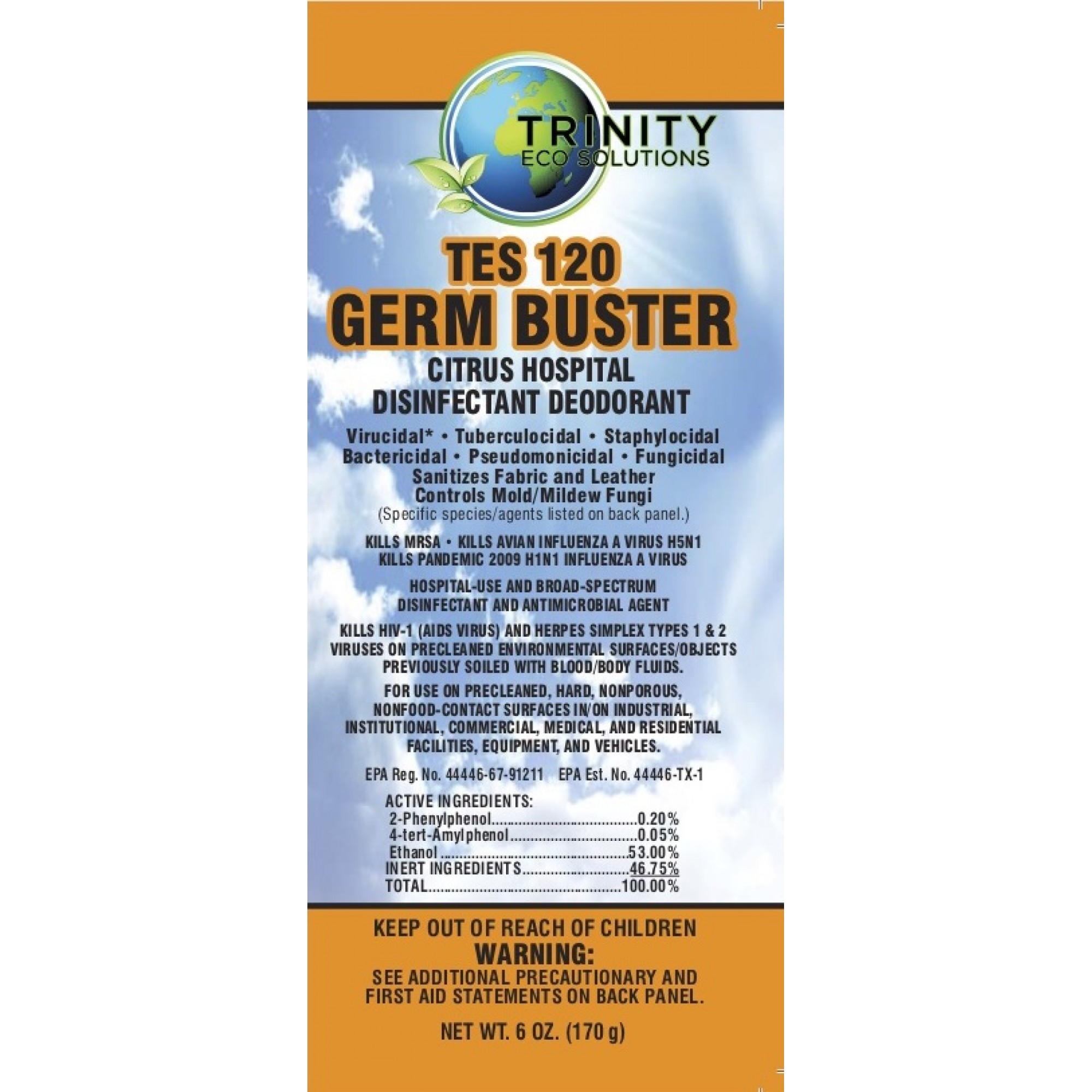 TES 120 Germ Buster-C
