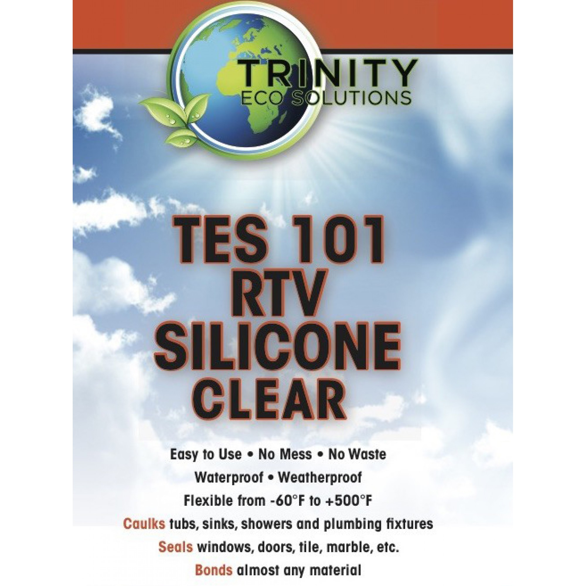 TES 101 RTV Silicone Clear