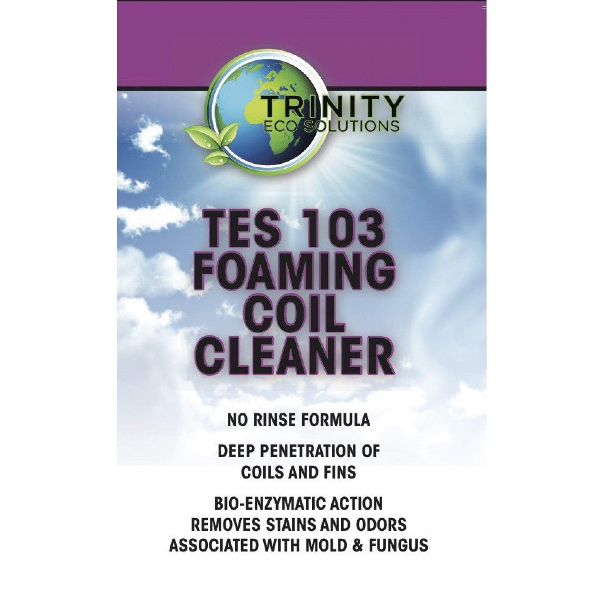 TES 103 Foaming Coil Cleaner