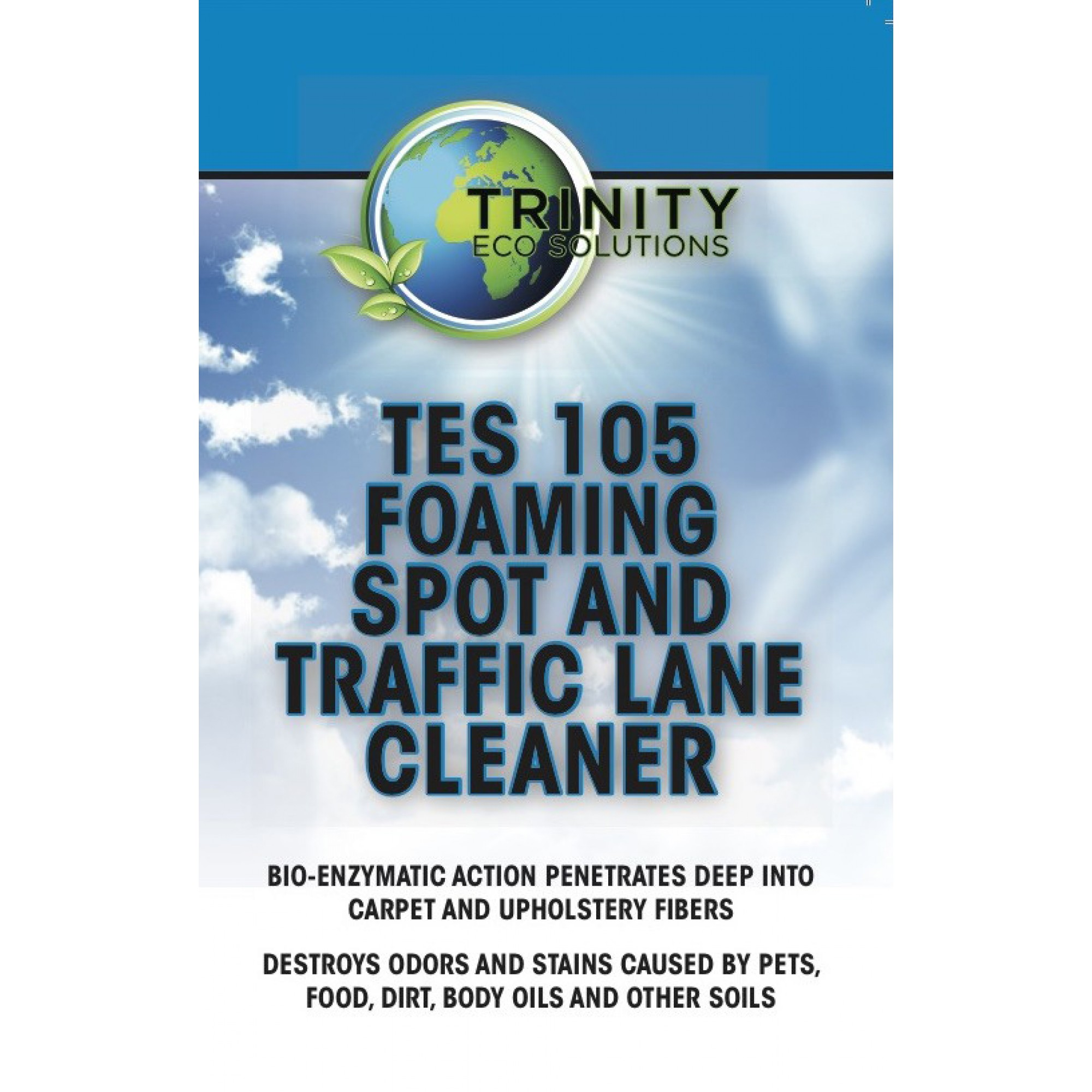 TES 105 Foaming Spot and Traffic Lane Cleaner