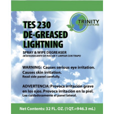 TES 230 De-Greased Lightning
